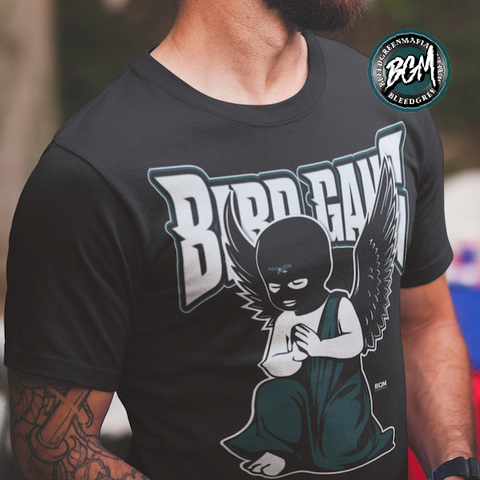 Philly BirdGang Masks On T-Shirt | BleedGreenMafia.com