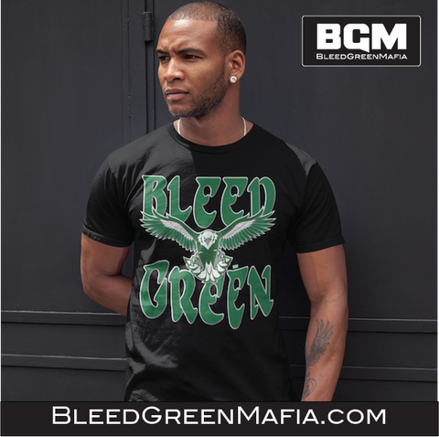 Philly Bleed Green - T-Shirt | BleedGreenMafia.com - BleedGreenMafia