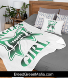 Eagles Girl Cozy Plush Fleece Blanket - 60x80