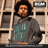 Philly Love Pullover Hoodie | BleedGreenMafia.com - BleedGreenMafia
