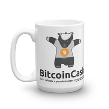 "Bitcoin Cash ""max badger"" Great with Coffee Mug"