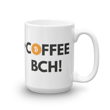 "Bitcoin Cash ""max badger"" Coffee BCH B/W Mug"