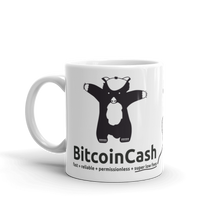 "Bitcoin Cash ""max badger"" Great with B/W Mug"