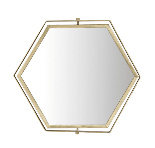 Brass Plated Mirror