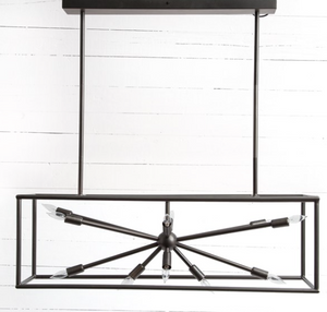 Jett Rectangle Chandelier