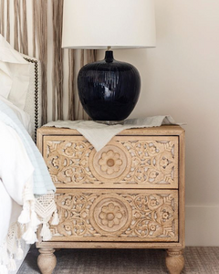 Whitewash Nightstand