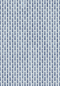 Navy Weaved Wallpaper