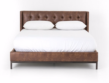 Nash Leather Bed