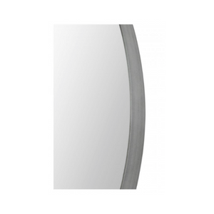 Antique Brushed Silver Mirror