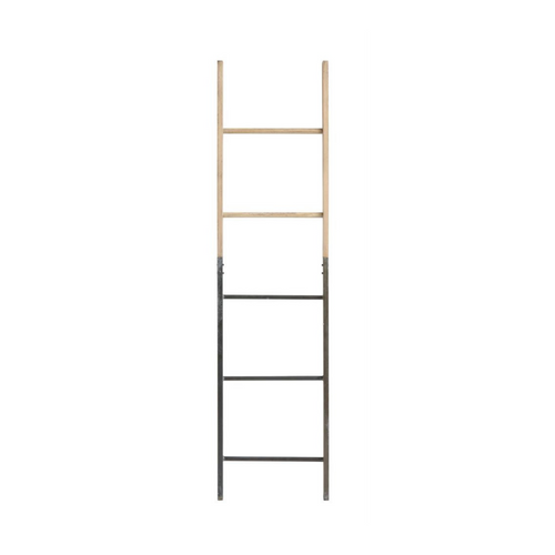Metal and Wood Ladder