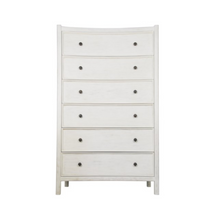 Whitewash Tall Boy Dresser