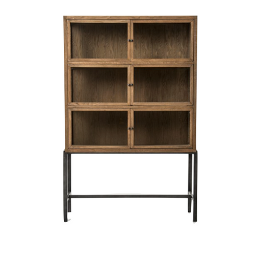 Drifted Oak Stacy Cabinet