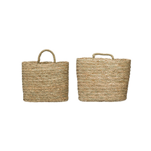Seagrass Wallbaskets