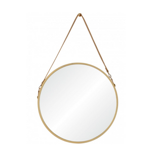 Leather Strap Mirror