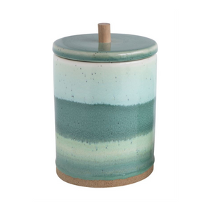 Tall Stoneware Canister