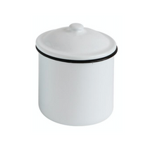 Small Enameled Canister