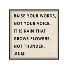 Raise your Words Art