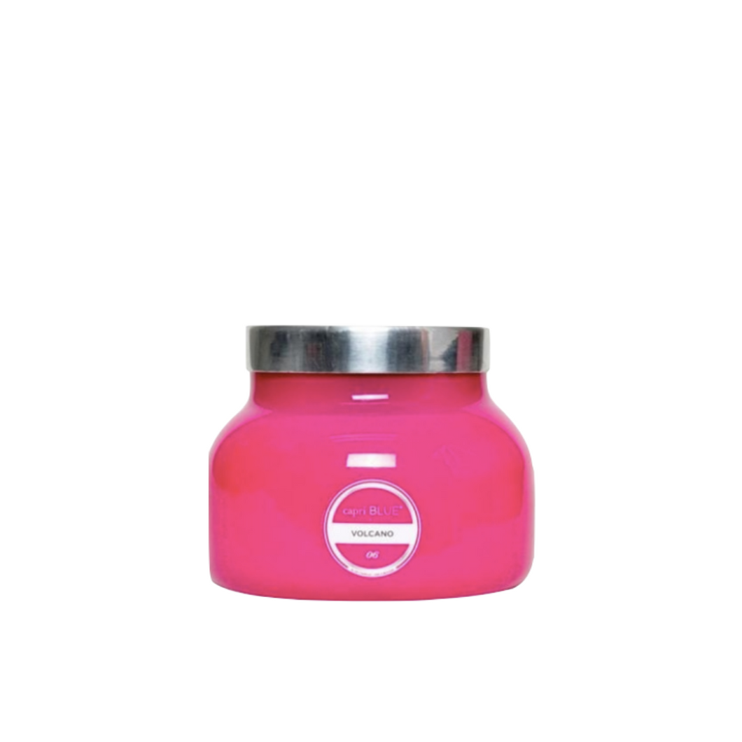 Signature Volcano Candle in Hot Pink