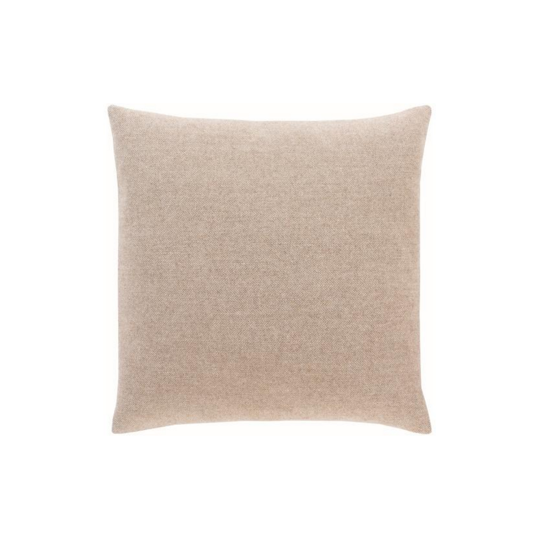 Woven Taupe Pillow