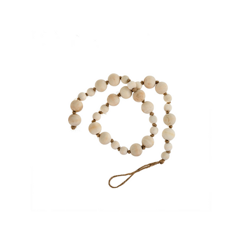 Natural Wooden Prayer Beads