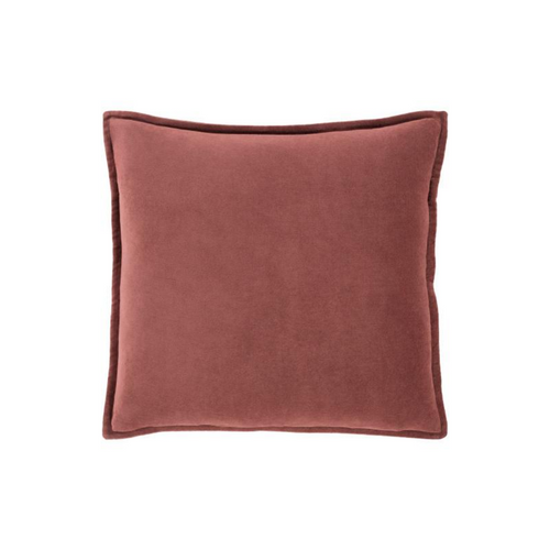 Rust Velvet Pillow