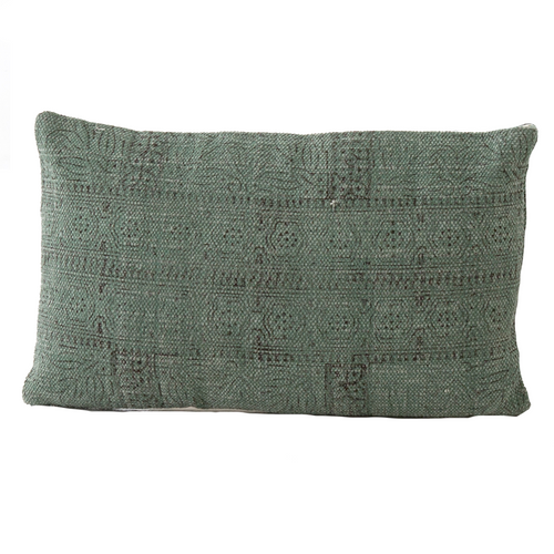 Washed Jade Pillow