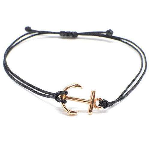 Handmade Anchor Bracelet (Gold)