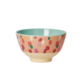 BOWL MELAMINA DAPPER DOTS - RICE