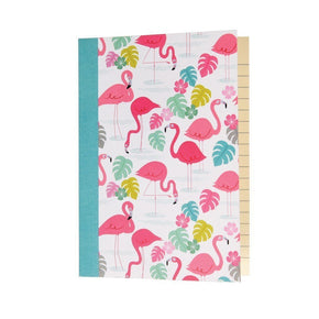 MINI CADERNO FLAMINGO