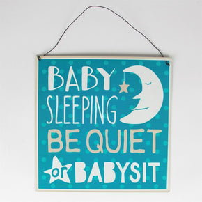 "PLACA ""Baby Sleeping..."""