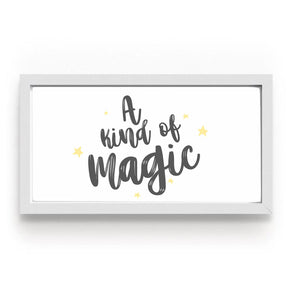Quadro A Kind Of Magic Preto
