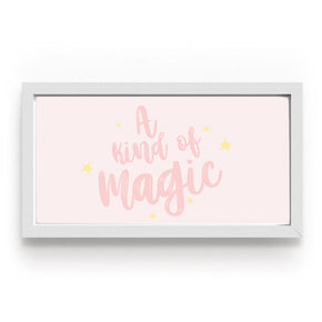 Quadro A Kind Of Magic Rosa