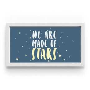 Quadro We Are Made Of Stars