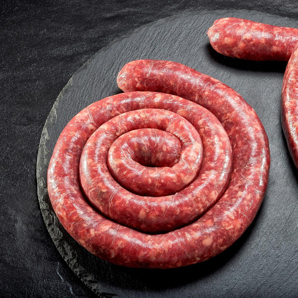 Traditional South African Boerewors (BBQ Sausage)