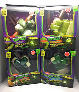 TMNT Kids Room Wall Decor 4 Piece Bundle Set