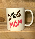 dog lovers coffee mug dog mom mug mugs for dog moms coffee mugs for pet owners coffee cups mug with dog paw