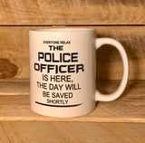 police officer gift funny coffee mug for cop funny coffee mug  for police officer