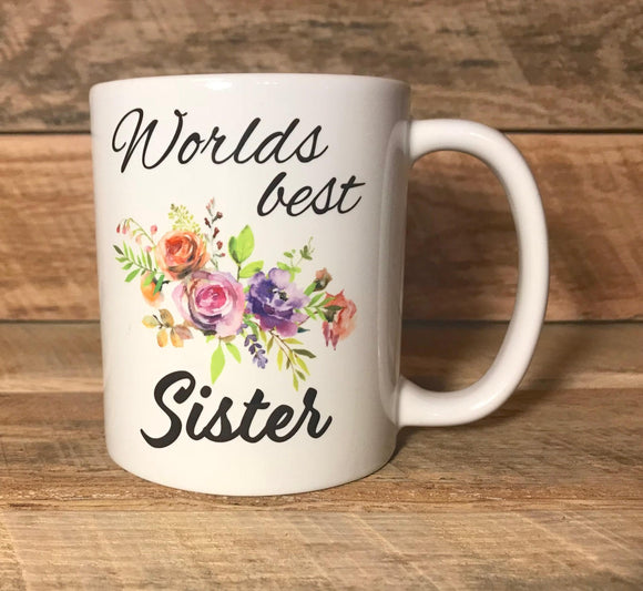 coffee cup coffee mug gift for sister best sister mug