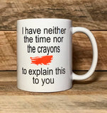 funny co worker gift idea coffee mug with saying