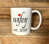 gift for newlywed coffee mugs coffee cups anniversary gift