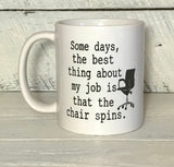 funny office coffee mug for co worker personalized coffee cup