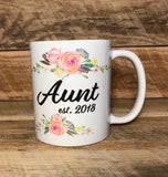 coffee mug for Aunt coffee cup gift for Aunt Personalized gift