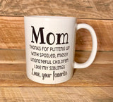 funny coffee cup coffee mug for mom mothers day gift