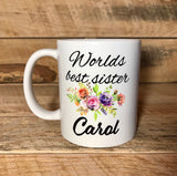 coffee mug coffee cups for sister personalized coffee cups
