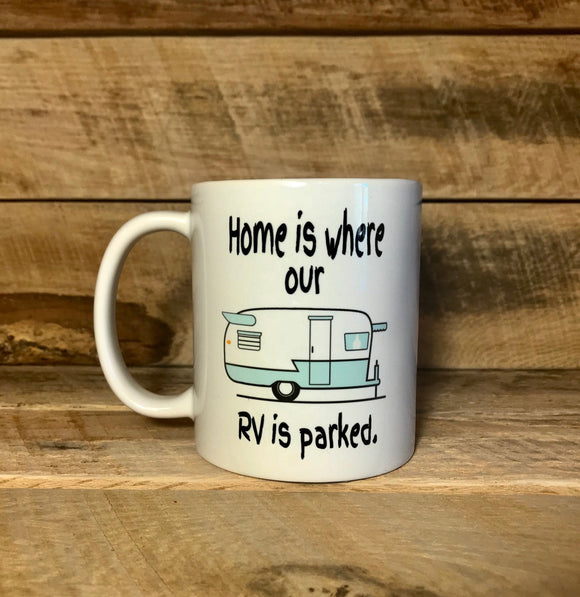funny camper coffee mug for mom gift for dad
