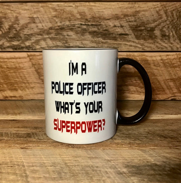 funny gift for police officer coffee mug coffee cup