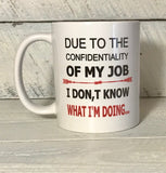 funny office co worker coffee mug with saying