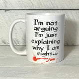 funny coffee cup with saying for mom or dad co worker gift