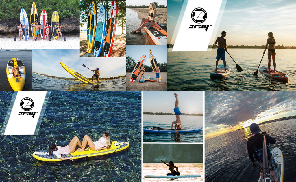 Freedom to put a little lifestyle in your commute. SUP boarding.
