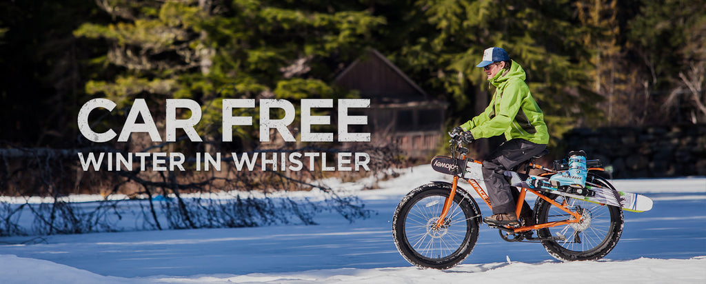 "Electric Fat Bike A ""Car-Free"" Winter in Whistler"